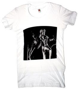 Cherie Currie and Joan Jett: Runaways Live Tee