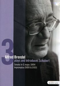 Brendel Plays & Introduces Schubert Piano Works 3
