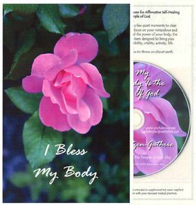 I Bless My Body: Healing Card