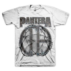 Pantera 81 (Mens /  Unisex Adult T-shirt) White, SS [Medium] Front Print Only