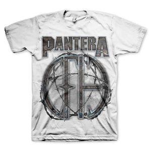 Pantera 81 (Mens /  Unisex Adult T-shirt) White, SS [Medium] Front Print Only