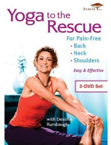Yoga to the Rescue for Pain Free Back Neck &