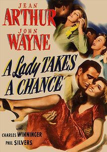 A Lady Takes A Chance , Jean Arthur