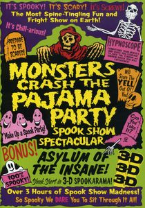 Monsters Crash Pajama Party
