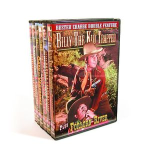 Buster Crabbe Cowboy Double Feature Collection