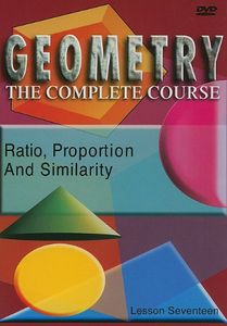 Ratio, Proportions and Similarity