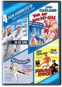 4 Film Favorites: Gene Kelly Collection