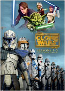 Star Wars: Clone Wars - Season 1-5 Collectors Edition