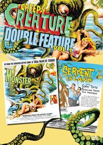 Creepy Creature: Volume 1: Monster From the Ocean Floor /  Serpent Island