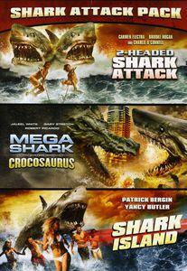2 Headed Shark Attack /  Mega Shark vs. Crocosaurus /  Shark Island