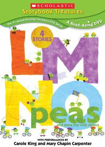 Scholastic Storybook Treasures: LMNO Peas...And More Fun With Letters