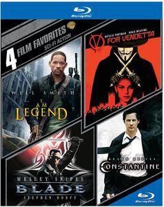4 Film Favorites: Sci-Fi Action