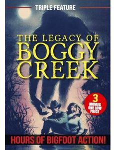 Boggy Creek Legacy Collection (Bigfoot Triple Fea)