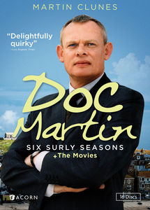 Doc Martin: Six Surly Seasons + The Movies , Martin Clunes