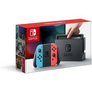 Nintendo Switch 32 GB Console: Neon Red/ Neon Blue