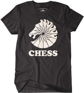Chess Records Black Classic Heavy Cotton T-Shirt (XXL)