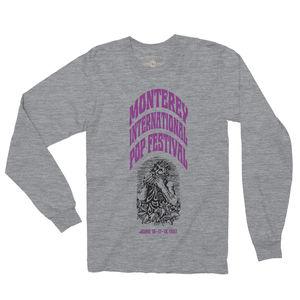 Monterey International Pop Festival Ltd. Edition Heather Grey LongSleeve T-Shirt (XL)