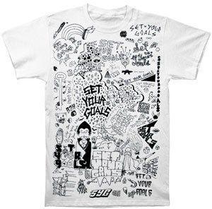 Doodle Slim Fit White - XL