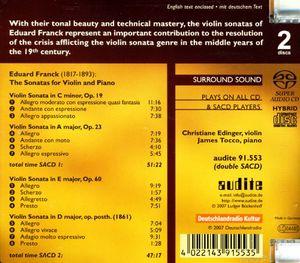 Sonatas for Violin & Piano