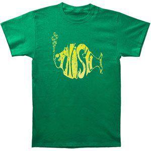 Distressed Logo T-Shirt Kelly Green - S