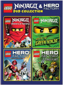 Lego: Ninjago and Hero Factory DVD Collection