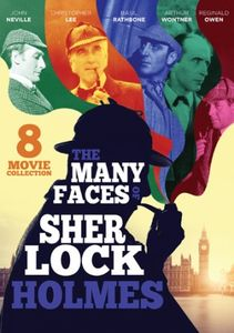 The Many Faces of Sherlock Holmes: 8 Movie Collection