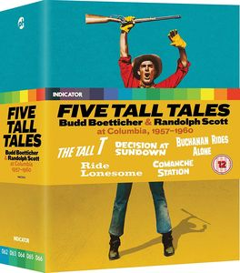 Five Tall Tales: Budd Boetticher & Randolph Scott at Columbia, 1957-1960 (Limited Edition) [Import]