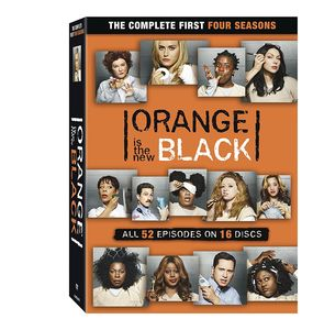 Orange Is the New Black: The Complete First Four Seasons