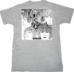 Beatles Revolver Heather Grey Adult - XXL