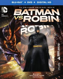 Batman Vs Robin (W /  Figurine)