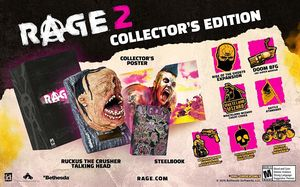 Rage 2 Collector's Edition for PlayStation 4