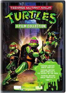 4 Film Favorites: Teenage Mutant Ninja Turtles Collection