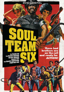 Soul Team Six: 6 Blaxploitation Film Collection