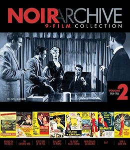 Noir Archive 9-Film Collection: Volume 2: 1954-1956