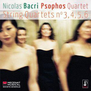 String Quartets Nos 3-6