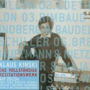 Kinski Spricht Werke Der Welt [Import]