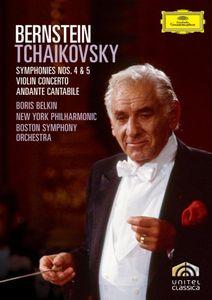 Bernstein: Tchaikovsky: Symphonies 4 & 5