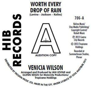 Worth Every Drop of Rain [Import] , Venica Wilson
