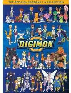 Digimon Collection Seasons 1-4