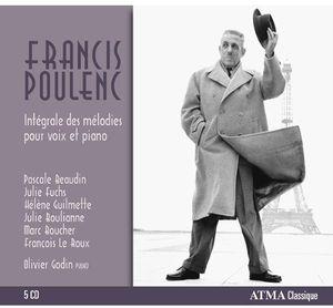 Integrales Melodies Pour Voix Et Piano