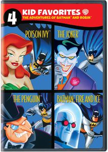4 Kid Favorites: The Adventures of Batman and Robin