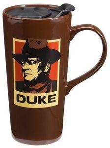 John Wayne A Man's Got To Do 20 Ounce Ceramic Travel Mug