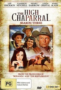 High Chaparral: Season 3 [Import]