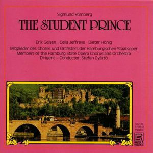 Student Prince Sung in German