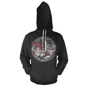 Black Sabbath World Tour 1978  (Mens /  Unisex Adult Hoodie) Black, LS [Small] Front Print Only