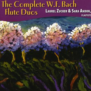 Complete W.F. Bach Flute Duos