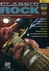 Guitar Play Along: Classic Rock: Volume 1