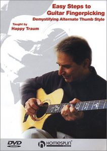 Easy Steps to Guitar Fingerpicking: Volume 1