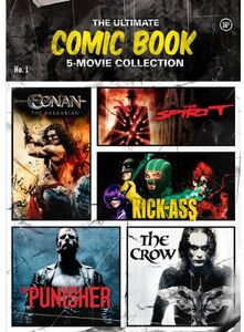 The Ultimate Comic Book 5-Movie Collection