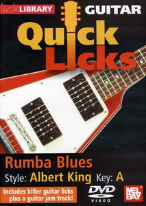 Quick Licks for Guitar: Rumba Blues Style